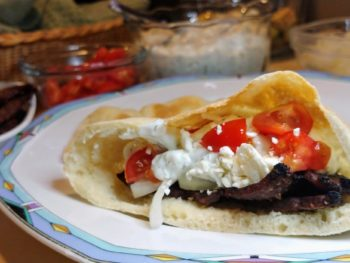 Gyros Recipe, from start to finish