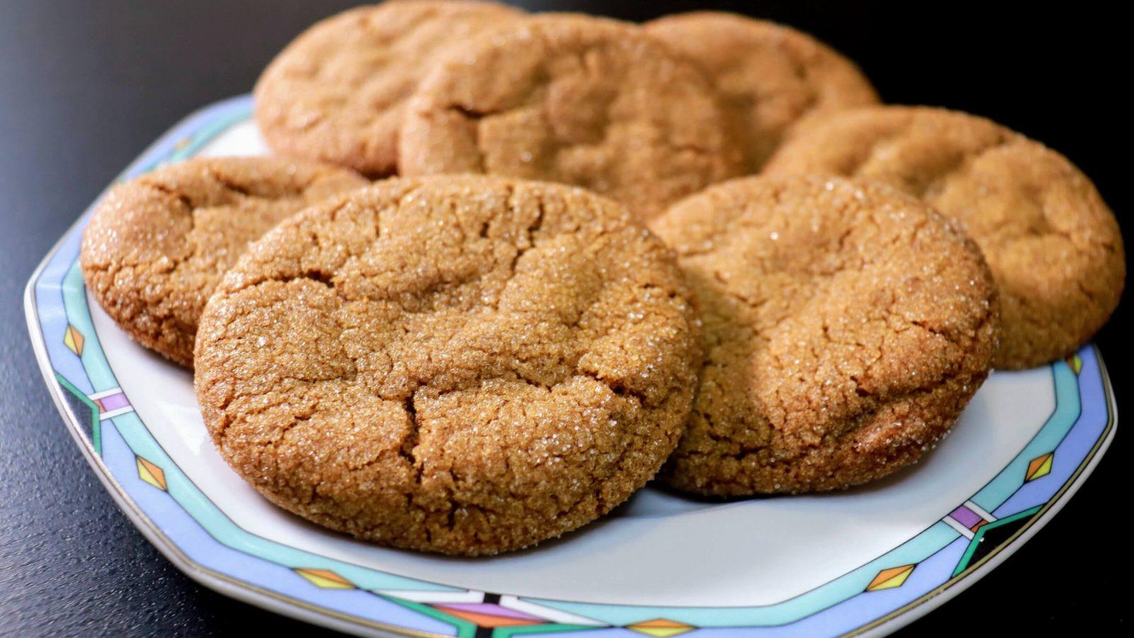 Grandpa Goodrich's Molasses Cookies